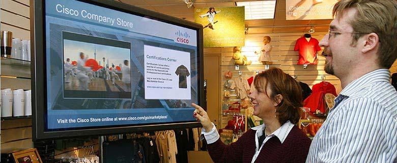 دیجیتال ساینیج در فروشگاه