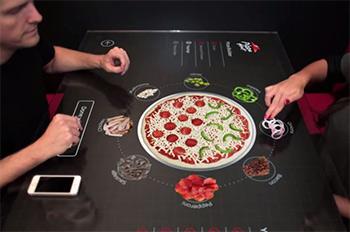دیجیتال ساینیج در رستوران های پیتزا هات