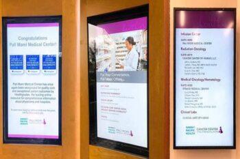دیجیتال ساینیج در بیمارستان