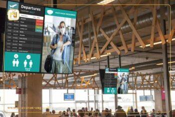 ساینیج در فرودگاه
